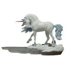 Winter Walk / Ice Unicorn Figurine - Dragonsite - Andrew Hull