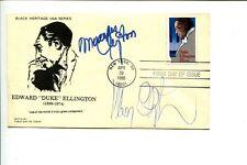 Mercer & Mercedes Ellington Jazz Son & Granddaughter Duke Signed Autograph FDC