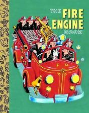 The Fire Engine Book (Little Golden Treasures)-ExLibrary