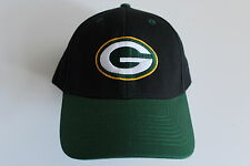 Green Bay Packers NFL Football  Cap Kappe One Size Team Apparel Klett Velcr