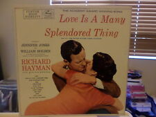 LOVE IS A MANY SPLENDORED THING and OTHER SONGS vinyl LP, 1955, Hayman