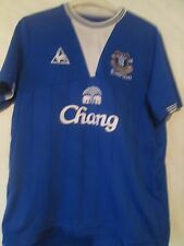 Everton 2009-2010 Home Football Shirt Adult Size Large /40865