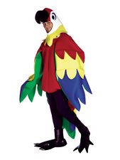 Adult Deluxe Parrot Animal Costume Std Fancy Dress Brand New