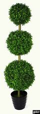Pot Realistic Foliage Artificial XL Extra Large 120cm Grass Topiary Tree Plant