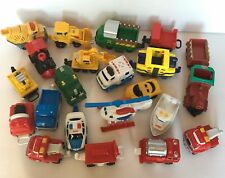 Lot of Over 20 Fisher Price GeoTrax Train Vehicles