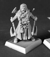 Hakon Iconic Skald Reaper Miniatures Pathfinder Fighter Warrior Bard Melee Axe