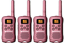 Lot of 4 PINK Motorola TalkAbout MG160A FRS GMRS 2-WAY Radios Walkie Talkie AAA