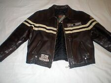 """CHEVIGNON ROADSTER's """"RAR"""" GIACCA DI PELLE LEATHER JACKET GIACCA PELLE Haagse cuir L"""