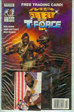 Mr. T and the T-Force # 3 (Norm Breyfogle, photo trading card) (USA, 1993)