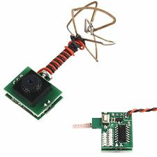 FPV Camera Mini Built-in Transmitter Antenna 25MW 100mA For FPV RC Quadcopter