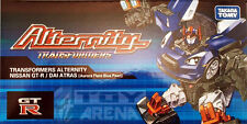 Transformers Alternity A-01 Dai Atlas Atras Asia Exclusive Nissan GT-R Blue