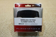 BRAND NEW PlayStation 3 PS3 Wireless Bluetooth Keypad Keyboard Controller SEALED