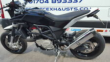 Husqvarna Nuda 900 Stainless Tri-oval Carbon Outlet Road Legal Exhaust