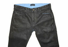 DIESEL BLACK GOLD EXCESS-NP-FS BLACK COATED JEANS W33 100% AUTHENTIC