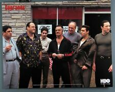 The Sopranos Mobsters, New 16x20 Inch Poster James Gandolfini as Tony Soprano