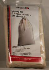 Household Essentials item 120 Extra Large Cotton Laundry Bag 28 x 36 inches