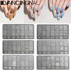 Nail Art Tips Smalto Image Stamp Plates Polish Stamping Unghie Decor Template