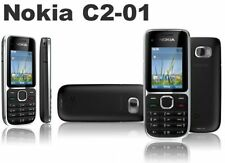 Nokia C2-01 Symbian S40 Mobile Phone Black 3.2MP 900/2100MHz 3G AU Plug
