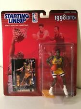 Kobe Bryant Los Angeles Lakers 1998 Starting Lineup Kenner Statue Figure & Card!