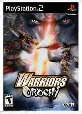 Warriors Orochi PS2 New Playstation 2 PS2 VIDEO GAME SAMURAI