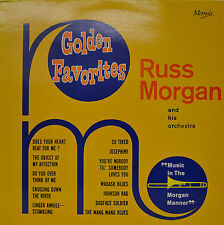 "RUSS MORGAN - GOLDEN FAVORITES  12""  LP (P535)"