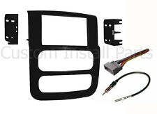 Double DIN Car Stereo Dash Kit Harness Antenna for 2002-2005 Dodge Ram Truck