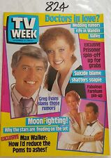 TV WEEK 1986 NOV 15,COUNTRY PRACTICE,FARNHAM Pinup,PRISONER SPIN-OFF,NM
