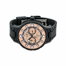 NOA Mammoth 48mm Chronograph Automatic Rose Tone Dial Men's Watch NO-MMTH08WHDS