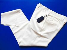 New Ralph Lauren Polo Italy 100% Wool White Dress Pants size 34