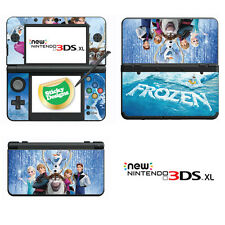 Disney Frozen Vinyl Skin Sticker for NEW Nintendo 3DS XL (with C Stick)