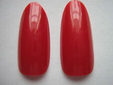 50 x RUBY RED  FULL OVAL HEAD/ ROUND STILETTO WHOLE NAIL