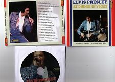 Elvis Presley CD At Dinner in Vegas - Live / Dinner Show von 1972