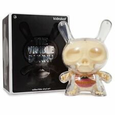 "Kidrobot THE VISIBLE DUNNY 8"" ART FIGURE Jason Freeny anatomy xxray kaws qee"