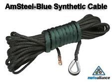 AmSteel-Blue Replacement Synthetic Winch Cable/Rope 3/8 x 85 - GREEN