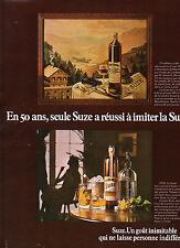 Publicité Advertising 1976  SUZE
