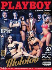 PLAYBOY MEXICO LAS CHICAS DE MOLOTOV MARCH 2015 MEXICAN MAGAZINE