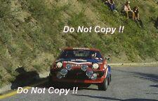 Simo Lampinen Triumph TR7 V8 San Remo Rally 1979 Photograph
