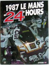 LE MANS 24 HOURS 1987 YEARBOOK / ANNUAL MOITY TEISSEDRE BOOK ISBN:0951284002