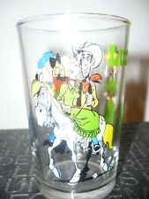 Verre à moutarde Lucky Luke N°4/1986 - vintage glass by Morris
