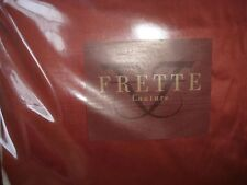 Authentic Frette Couture Queen Sheet Set 100% Cotton Port Italy UK King New