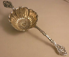 antique GORHAM VERSAILLES figural sterling TEA STRAINER CHERUBS rare