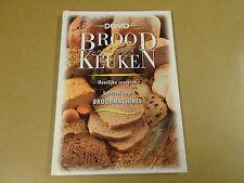 BOEK DOMO / BROOD UIT EIGEN KEUKEN - HEERLIJKE RECEPTEN VOOR BROODMACHINES