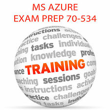 MS AZURE EXAM PREP 70-534 Part 1 - Video Training Tutorial DVD