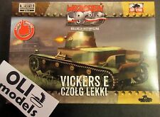 1/72 WWII Vickers E Polish Light Tank Single Turret - First to Fight 029