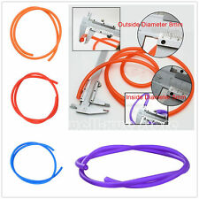 1M Motorcycle Bike Petrol Fuel Hose Line Gas Oil Pipe Tube 5mm I/D 8mm O/D NEW