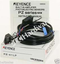 New Keyence PZ-41LP Built-in Amplifier Photoelectric Sensor PNP 12-24V DC