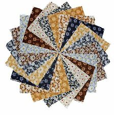 "40 5"" Quilting Fabric Squares Shades Of Neutral 3 Gorgeous!!"