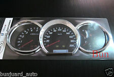 TOYOTA HILUX VIGO SR5 MK6 2005 - 2011 CHROME DASH GAUGE COVER TRIM ABS 06 07 08