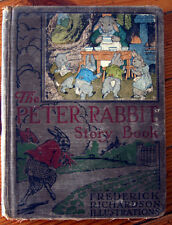 The Peter Rabbit Story Book 1920 Illustrated by Frederick Richardson WINSTON