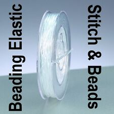 Nylon Beading Stretch Wire Elastic Cord Clear Strong Bracelet Thread 0.25mm 10M